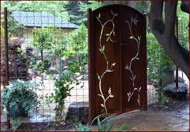 dual swing garden gate