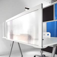 desk divider by loftwall can be tackable fabric acrylic or dry erase boards