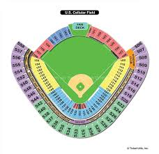 Chicago White Sox Cellular Field Seating Chart Guaranteed Rate Field Chicago Il Seating Chart View