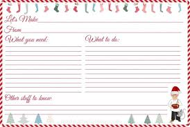 Recipe Cards Print Free Printable Recipe Cards For Christmas Pastry Chef Online