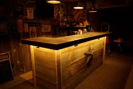 Barnwood Bar This Basement Barn Wood Wet Bar Was Custom Built On Site And Is 7591 by guidejewelry.us