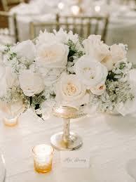 White wedding centerpieces Long Table White Wedding Centerpieces Luna De Mare Photography Belle The Magazine 12 Stunning Wedding Centerpieces Belle The Magazine