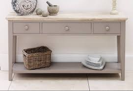console table statement furniture florence dove grey kitchen