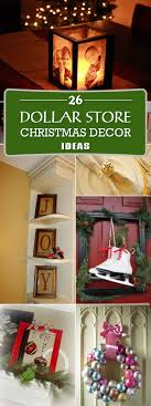 Diy Christmas Decorations Dollar Store Christmas Decor Ideas