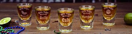 personalized shot glasses beer mugs custom engraved gifts at glass with a twist