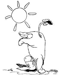 Immagini Winnie The Pooh Disegno Ih Oh Asinello Da Colorare