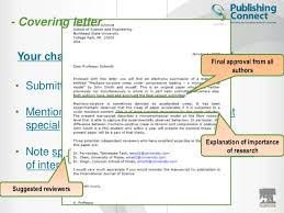 awesome cover letter for submitting paper to journal 27 for best