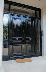 front double doors. Double Front Door. Doors Black Style Polished Door