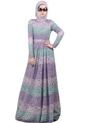 Not Include The Hijabs Long Sleeves Dress Lace With Lining Turkish