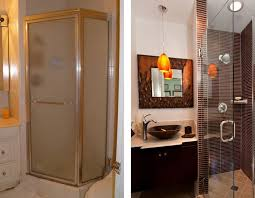 bathroom remodel pictures before and after. Wonderful And Shower Bathroom Remodel Before And After With Pictures