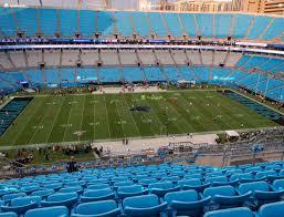 Carolina Panthers Seating Chart With Rows Bank Of America Stadium Section 543 Seat Views Seatgeek
