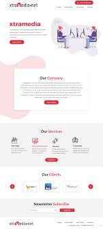 Professional Web Design Techniques Modern Professional Business Software Web Design For A