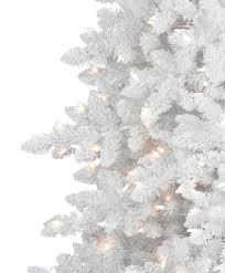 Artificial Christmas Trees Flocked  Christmas Lights DecorationSlim Flocked Christmas Trees Artificial