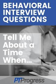 Behavior Based Interview Questions And Answers
