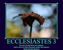Ecclesiastes 3 | Ecclesiastes 3 King James Version (KJV) 1 T… | Flickr