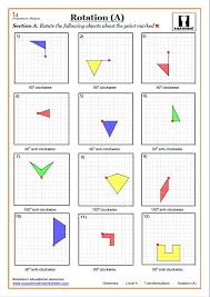 Transformation Worksheets with Answers | GCSE Maths Transformations