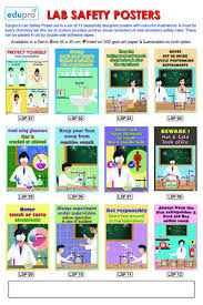 Chemistry Wall Charts Lab Safety Posters