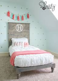 diy platform beds diy twin platform bed and headboard easy do it yourself bed