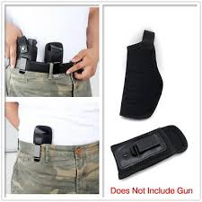 <b>Universal Gun Holster Pouch</b> Concealed Carry IWB Holster With ...