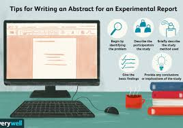 how to write an abstract in apa format