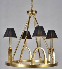 Casa Padrino Luxus Kronleuchter Steigbügel Antik Gold Schwarz ø 62 X H 68 Cm Hotel Restaurant Lampe