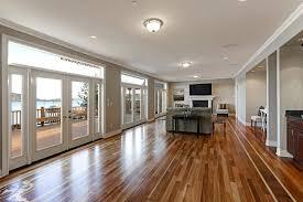 hardwood flooring beach front living room high gloss