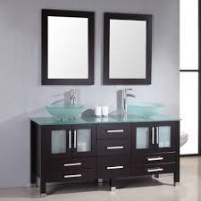 double vanity with tower. bathroom design:magnificent double vanity ideas gray with center tower