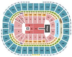 Concert Seating Chart Quicken Loans Arena Td Garden Seating Chart Rows Seat Number And Club Seat Info