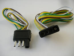 trailer wiring harness, how many pins ? nissan frontier forum 4 Pin Trailer Wiring Harness click image for larger version name 4_pin_flat_trailer_wiring_harness jpg views 6215 size 165 4 4 pin trailer wiring harness diagram