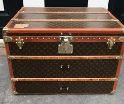 vintage luggage. vintage louis vuitton coffee table trunk e.v. luggage