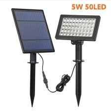 Led Solar Garden Spot Lights Amazon Com Joepet 50 Led Solar Powered Spot Lights Outdoor
