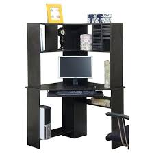 computer desk and hutch corner with doors corner computer desk with hutch d95