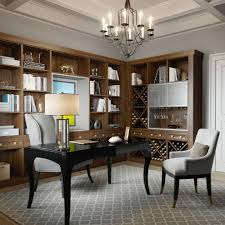 office rug. Hometeam Properties For A Transitional Home Office With Gray Area Rug And California Closets By HQ T