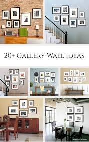 20 gallery wall ideas bringing together photography family and art