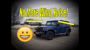 Jeep Jk Light Bar Wind Noise Jeep 50 Inch Light Bar Wind Noise Fix How To Stop Wind Noise From Light Bar
