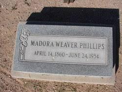 "Madora Adeline ""Addie"" Weaver Phillips (1860-1934) - Find A Grave Memorial"