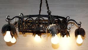 rewired chandelier