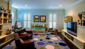 view in gallery modern kids playroom with a rug in purple design sunset properties of tampa