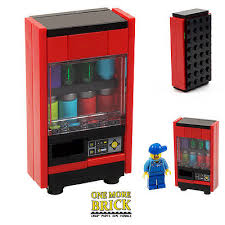 Lego Vending Machine Adorable LEGO VENDING MACHINE Drinks Machine Soda Cans Control Panel