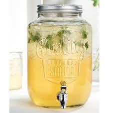 home essentials and beyond del sol cooling station glass drink dispenser