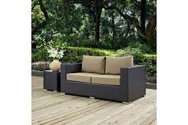 loveseats wicker loveseat cushions replacement patio outdoor couch and chairs garden furniture curved large size