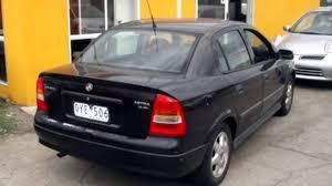 2001 Holden Astra TS CD Black 5 Speed Manual Sedan - YouTube