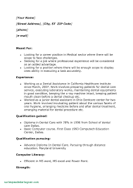 Medical Assistant Resume Samples No Experience Unique M A Experience