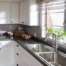 after kitchen step back and admire your updated kitchen to see how laminate countertops
