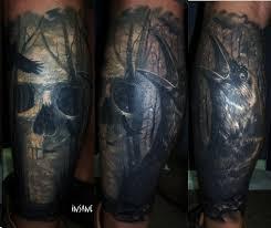 рукава в стиле реализм тату татуировки цветной рукав морской темы в