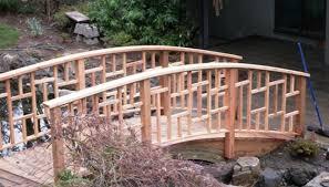 exterior balustrade. asian inspired craftsman style bridge railing exterior balustrade