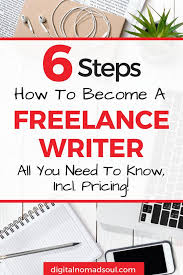how to become a lance writer in easy steps digitalnomadsoul become a lance writer content writer writing jobs step by step