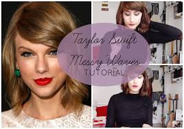 Taylor Swift New Hair Style messy taylor swift waves for short hair tutorial sunday girl 3778 by stevesalt.us