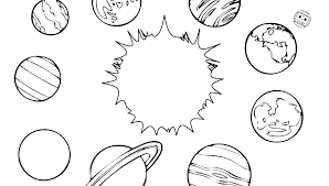 Page 8 Coloring Coloring Pages Of Our Planets
