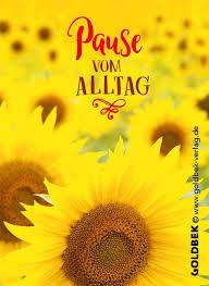 Postkarten Sonnenblumen Sehr Schönes Sommer Sonnen Gelbes Motiv